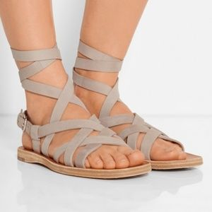 BRAND NEW MIU MIU ROMAN GLADIATOR SANDALS SIZE 8